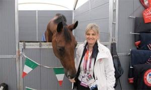 Italian equestrian co-ordinator Andrea White