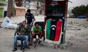 cigarette sellers in Banghazi
