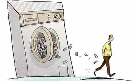 £3,000 washing machine illustration