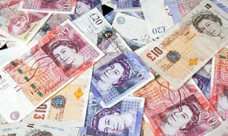British sterling bank notes