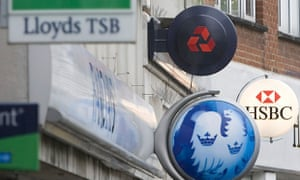 The signs of high street banks