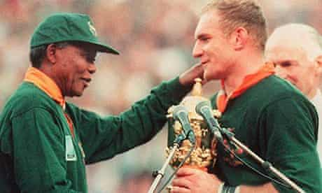 Francois Pienaar: 'When the whistle blew, South Africa changed forever' | Nelson Mandela | The Guardian