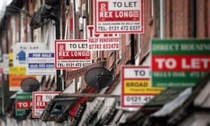 To let signs in the booming buy-to-let market