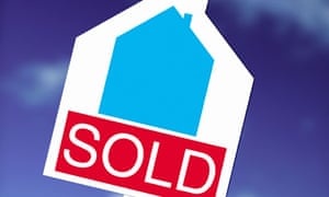 A sold sign