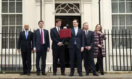 British chancellor George Osborne budget 2013