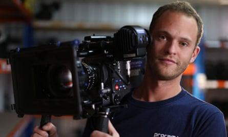 TV cameraman Joel Shippey