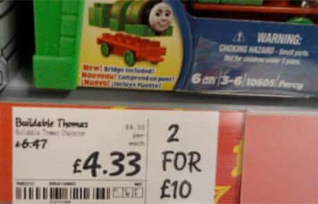 Thomas the Tank Engine daft deal