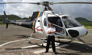 Helicopter pilot Patrick Muirhead