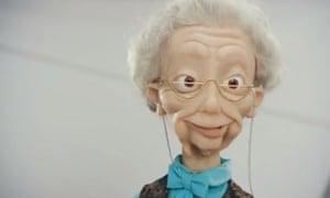 A Wonga puppet