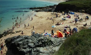 Padstow holiday beach