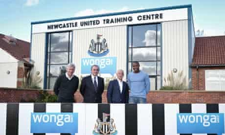 Newcastle United FC announce Wonga as a sponsor