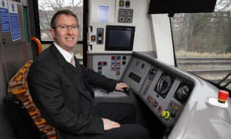 Train driver Craig Puffett