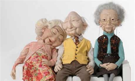 The Wonga puppets