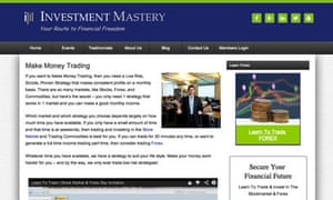 Investment mastery screengrab