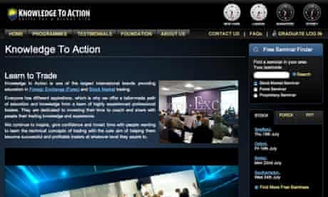 Knowledge to action screengrab