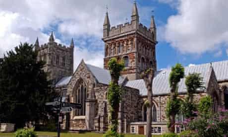 Wimborne Minster in Dorset