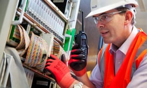 Andrew Hunter, a London Underground signalling engineer