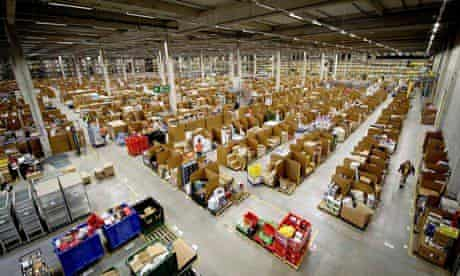 Inside the Amazon warehouse