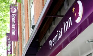 Premier Inn Hotel, London