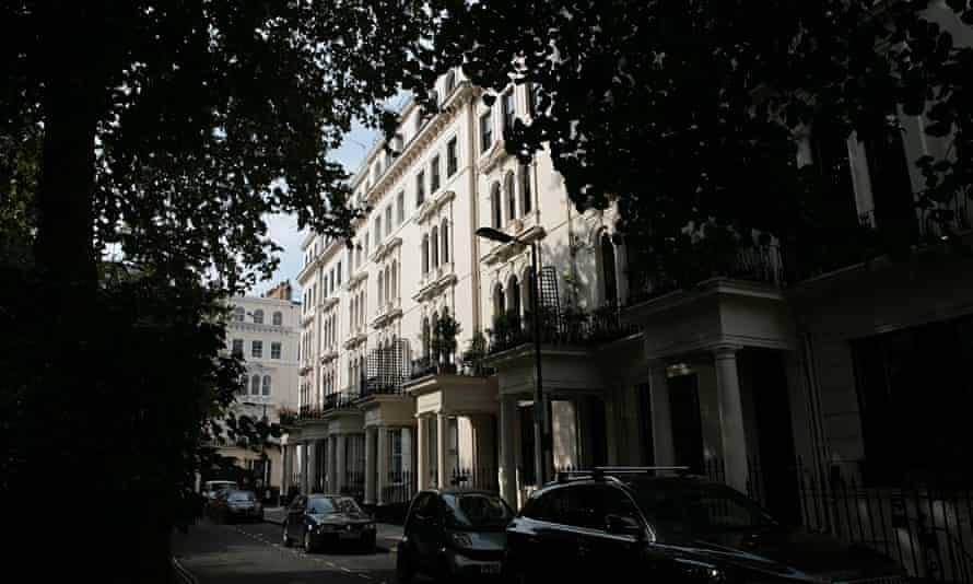 Kensington Gardens Square in London's Bayswater