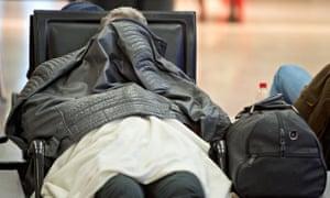 passenger delayed flight