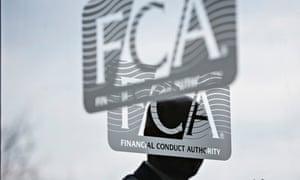 FCA logo on a window