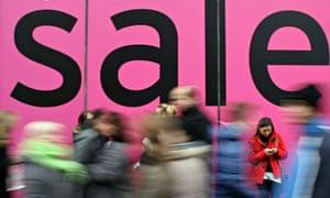 sales frenzy