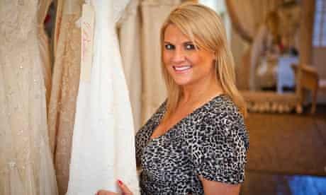 Charlotte Balbier, wedding dress designer