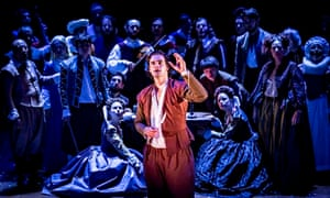 Image from Shakespeare in Love at the Noel Coward theatre, London