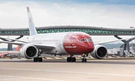 norwegian airliner