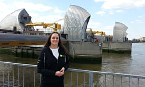 victoria kettley at thames barrier