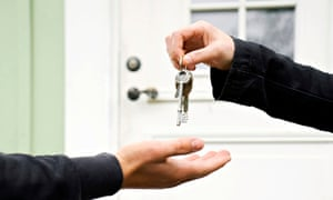 exchanging keys on a property