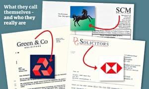 banks solicitors letter