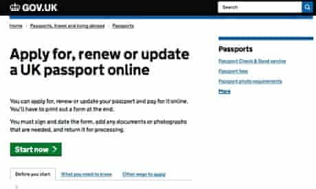 official passport site