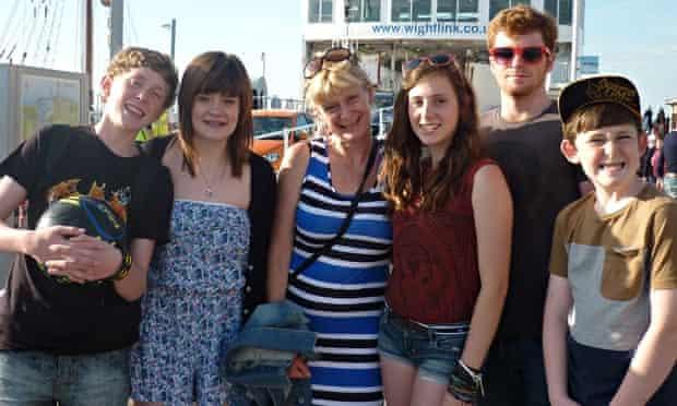 pennie davis and her children
