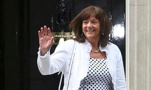 Ros Altmann leaves 10 Downing Street