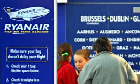 At last Ryanair customer service is taking off.