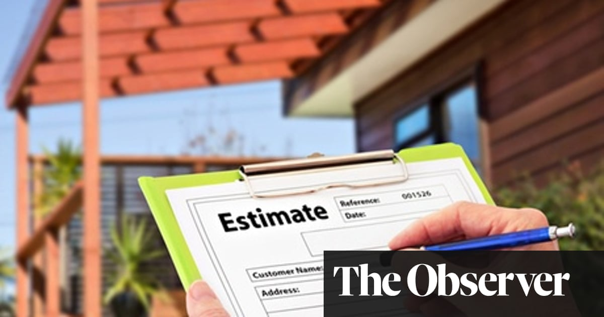 Surprise! A £5,000 extension to our builder's bill | Money | The