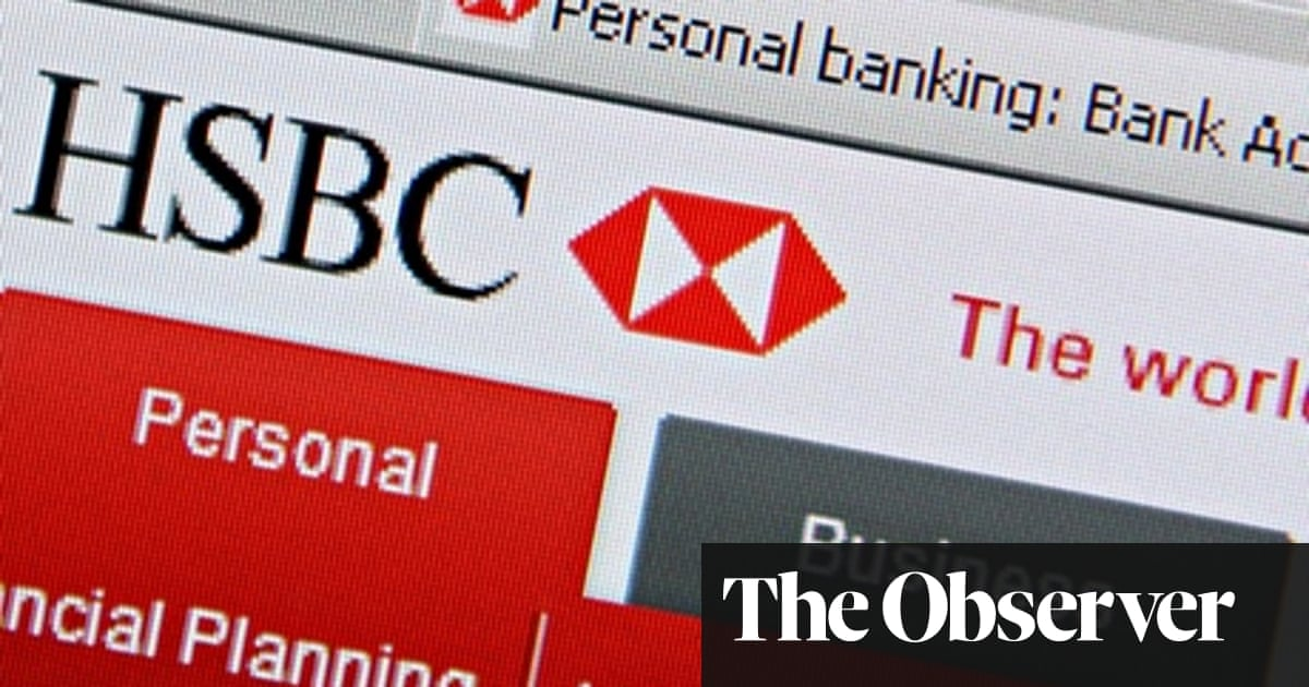 HSBC business customers run out of space on the web | Money | The