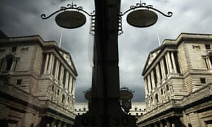 The Bank of England reflected