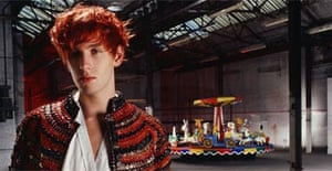 Patrick Wolf and a merry-go-round
