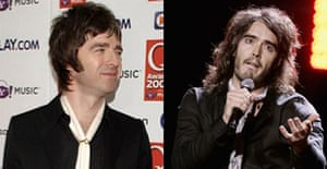 Noel Gallagher is stealing Russell Brand's look