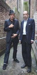 Paul Simonon and Mick Jones, the Clash