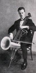 Stroh cello player c1930
