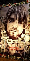 Memorial to Kurt Cobain on 10th anniversary of his death