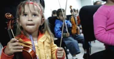 Venezuelan classical orchestra for children