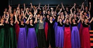 Amabile Girls' school choir
