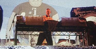 Fatboy Slim, Brighton Beach, New Year's Day 2007