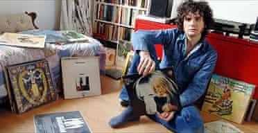 Will Hodgkinson's record label in his bedroom