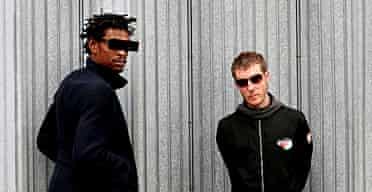 Massive Attack, Grant Marshall and Robert Del Naja